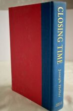 Closing Time by Jospeh Heller (stamped signature on cover)