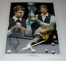 JUDD TRUMP SNOOKER PERSONALLY SIGNED AUTOGRAPH 16X12 PHOTO
