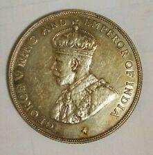 Straits Settlements King George V  One Dollar 1920   UNC