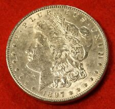 1897 MORGAN DOLLAR UNC 90% SILVER LIBERTY COLLECTOR COIN CHECK OUT STORE MG246