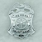 West Catasauqua Fire Company, Whitehall Pennsylvania, PA - Firefighter Hat Badge