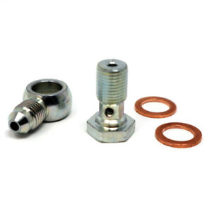1 Steel Banjo Bolt Fittings M10 x 1.0 (Metric 10mm) to 3AN -3 AN3 for HONDA, etc