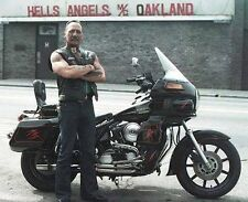 Hells Angels Boss Sonny Barger In Oakland California Glossy 8.5x11 Photo HA-776