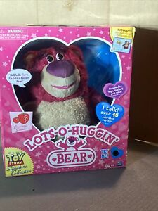 TOY STORY SIGNATURE COLLECTION LOTS-O-HUGGIN' BEAR PLUSH