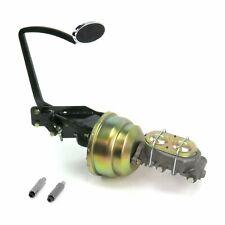 35-40 Ford OEM X 8 Dual Brake Pedal kit Disk/DiskLg Oval Chr Pad
