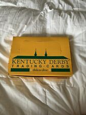 kentucky derby trading cards limited edition 24 pack box