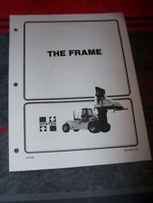 5D Manual HYSTER The frame H800-1050C H36.00-48.00C
