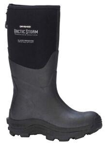 DRYSHOD Women's Arctic Storm Hi Size 8 Black/Grey Waterproof Insulated Boots