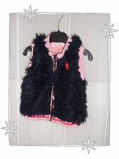 Gilet Blouson Fantaisie Noir Rose Spruit Taille 74 - 12 Mois Neuf