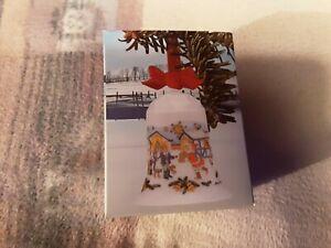 Hutschenreuther Weihnachtsglocke 1985 Neu Originalverpackung