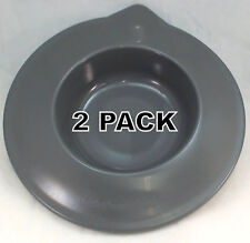 2 Pk, Stand Mixer Glass Work Bowl Cover for KitchenAid,AP5801837, W10559999