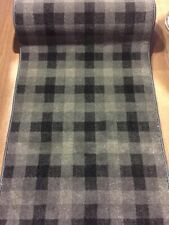 Carpet Runner Traditional TARTAN Woven Wilton