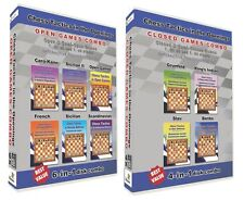 Chess Tactics in the Openings 10-in-1 Combo Open and Closed Games (10 Disks)
