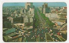 Mexico, The Reforma 1971 Postcard, B271