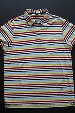 VINTAGE PENFIELD 100% COTTON STRIPED MULTI-COLOR POLO SHIRT sz M
