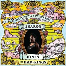 SHARON & THE DAP KINGS JONES - GIVE THE PEOPLE WHAT THEY WANT  CD R&B/BLUES NEUF