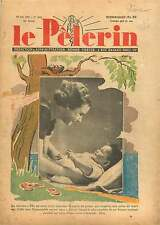 Baby Mom Mother Child Bébé Kid Enfant Mère Maman mummy France 1938 ILLUSTRATION