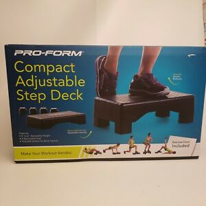 """Pro-Form Adjustable Step Deck 4"""" and 6""""  New in Box"""
