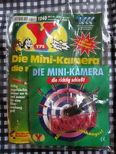 """YPS mit Gimmick Nr. 1040 """"Die Mini-Kamera die richtig schießt"""", 1995, ovp!"""