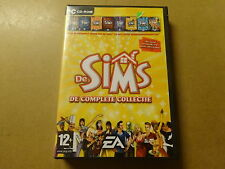 4-DISC PC GAME / THE SIMS 1: DE COMPLETE COLLECTIE (CD-ROM)