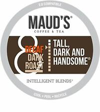 New listing Maud's Decaf Dark Roast Coffee (Decaf Tall & Handsome), 100ct. 100 Count