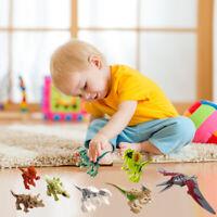 8 PCS Children DIY Dinosaur Building Blocks Kids Educational Toys Bricks Lot
