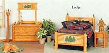 LODGE 5 PIECE BEDROOM SET  DOLLHOUSE FURNITURE