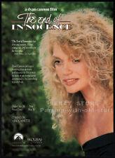 THE END OF INNOCENCE__Original 1991 Trade print AD promo__DYAN CANNON_John Heard