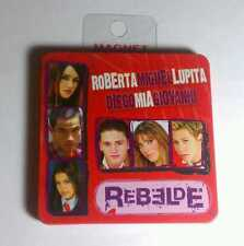 REBELDE Red Purple Photo Miguel Mia Giovanni Lupita Diego Roberta MAGNET As-Is