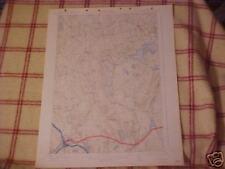 MAINE USGS Topo  MAP    SKOWHEGAN    quad   1913 / 1941