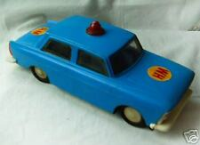 Very old model car plastic Moskvich USSR police 1960s