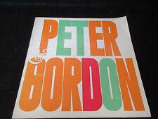 Peter & Gordon 1965 Japan Tour Book w Glued Ticket Stub Asher Concert Program