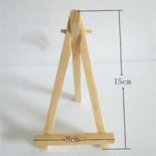 Hot 8*15CM Wood Display Stand Easel Plate Holder Picture Photo Arts D5C