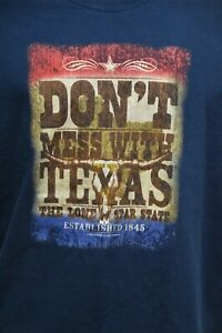 Don't Mess with Texas Men T-shirt Size XL