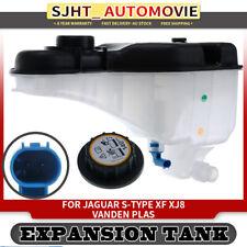 Expansion Tank w/ Sensor for Jaguar S-Type XF XJ8 Vanden Plas 2.5-4.2L 1999-2015