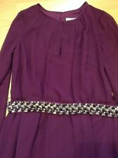 Bnwt��Coast�� 10 (Uk) Anise Magenta Long Sleeve Maxi Dress Wedding Bridemaid New