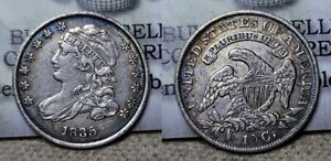 1835 Capped Bust Dime 10c