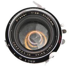Carl Zeiss 100mm f2.8 Planar Linhof shutter  #4242471