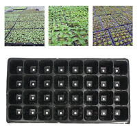 32 Cell Seedling Starter Trays Seed Germination Garden Plant Propagation TO