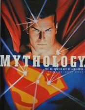 Alex Ross Chip Kidd Geoff Spear SIGNED 3X Mythology:DC Comics Superheroes 1s/1s