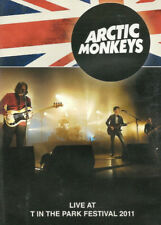 Arctic Monkeys - Live At T In The Park Festival 2011 - DVD - New & Sealed