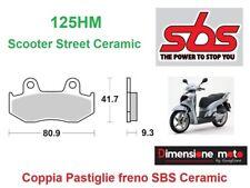125HM - CP Pastiglie Freno Posteriori SBS Ceramic per HONDA CBR 400 RR dal 1988>
