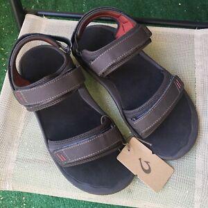 NWT Olukai Sandals Mens 13 Hokua Pahu Shoes