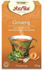 Yogi tea ginseng fleur de thé - 17 sacs
