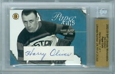 2002-03 BAP HARRY OLIVER 1/1 AUTO HOF PAPER CUTS ULTIMATE 3RD EDITION BRUINS