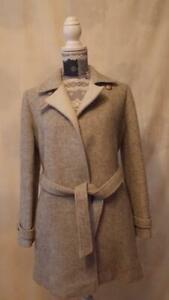Miss Smith Original Jacket size 12     Long Sleeve  Light Grey