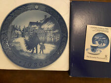 Royal Copenhagen Christmas Plate 1980 with original box
