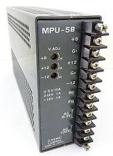 NEMIC LAMBDA MPU-5B Netzteil Power Supply MP5-AA02-194256 5/12V 10/1A 6,3/100VAC