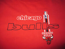 Logo Athletic CHICAGO BULLS Embroidered (3XL) Heavy T-Shirt