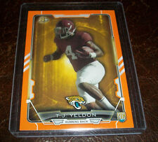2015 BOWMAN ORANGE TJ YELDON JAGUARS RC #'D 047/299